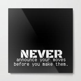 07MA04   Motivational Quote   Digital Art   Artist Amiee Metal Print