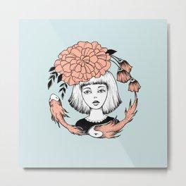 Ink Girl Design - 14.05.17 01 Metal Print