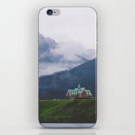 Waterton Fog iPhone Skin