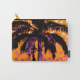 Palm Tree (Orange Pink) Carry-All Pouch
