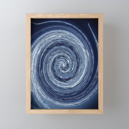 thoughts go round Framed Mini Art Print