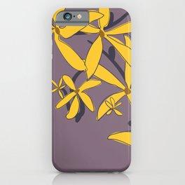 Forsythia III iPhone Case