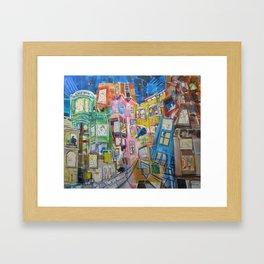 The Apartments Framed Art Print