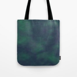 Dark blue and green marble Tote Bag