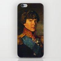 benedict iPhone & iPod Skins featuring BENEDICT by John Aslarona