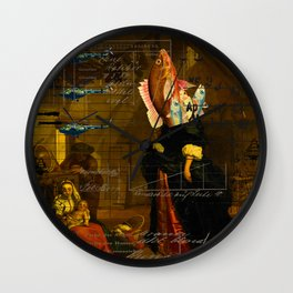 THE VISIT I Wall Clock