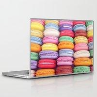 macarons Laptop & iPad Skins featuring Macarons by Sankakkei SS