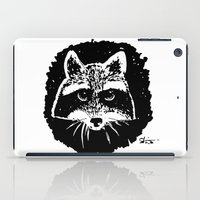 racoon iPad Cases featuring Racoon by leart