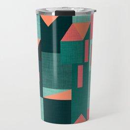 Teal Klee houses Travel Mug