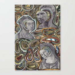 Faces in History Canvas Print