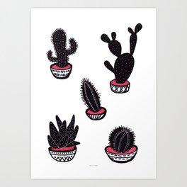 cactus collective Art Print