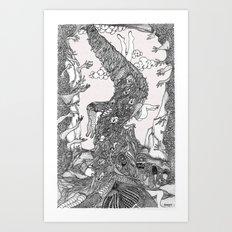 Tai-Feng Art Print