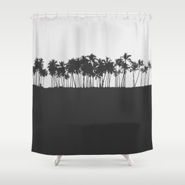 Half Roasted Shower Curtain