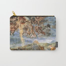 """Michelangelo """"The Conversion of Saul"""" Carry-All Pouch"""