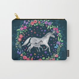 Mama and Baby Unicorn Carry-All Pouch