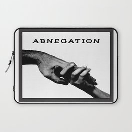 ABNEGATION - DIVERGENT (draw by me) Laptop Sleeve