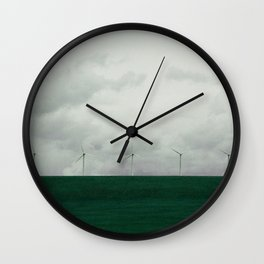 Green Energy Wall Clock