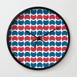 Hob Nob America Stripes Wall Clock
