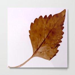 Be Like A Leaf #2 Metal Print