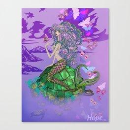 Virtuous Three - Hope Canvas Print