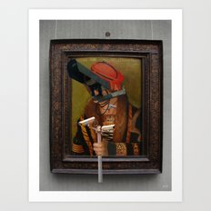 The Painting Collection Camera Collage Art Print