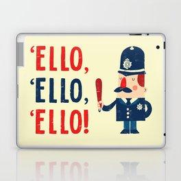 'Ello, 'ello, 'ello! Laptop & iPad Skin