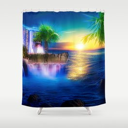 Dreamland-big Shower Curtain
