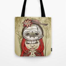 i wear my lucky skull  Tote Bag