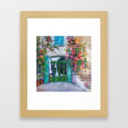 Colors of Collioure, France Framed Art Print