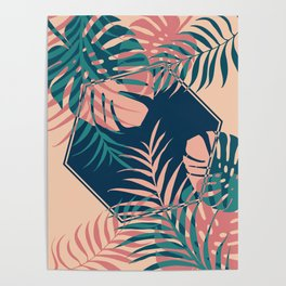 Tropical Dreams #society6 #decor #buyart Poster