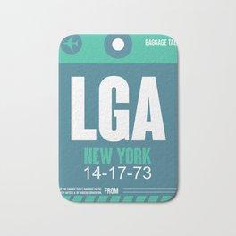 LGA New York Luggage Tag 2 Bath Mat