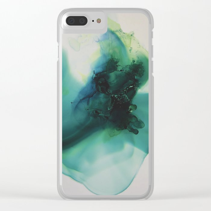 Anahata (Heart Chakra) Clear iPhone Case