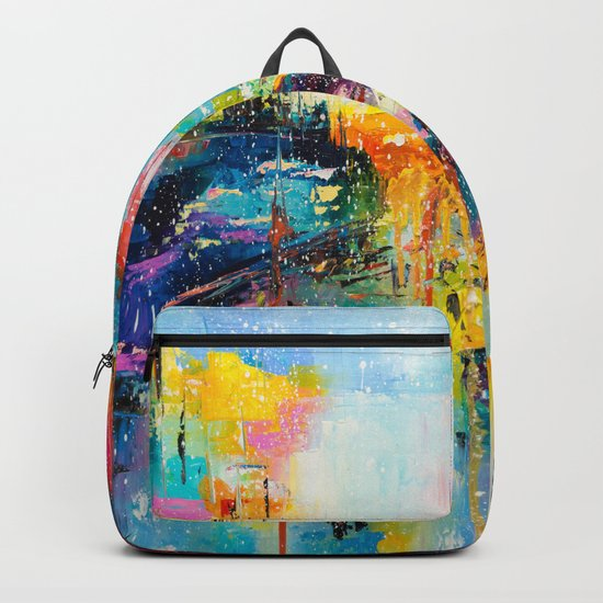 RAIN FALL DOWN Backpack