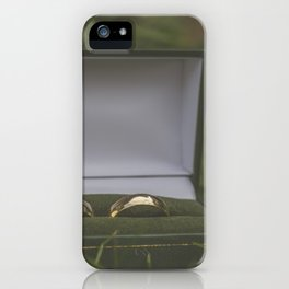 Wedding Rings. iPhone Case