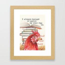 The Nest Egg Framed Art Print