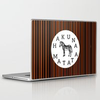 hakuna Laptop & iPad Skins featuring Hakuna Matata  by Shelby Thompson