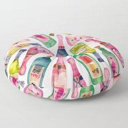 Champagne Collection Floor Pillow