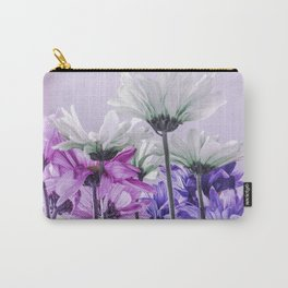 Purple Lavender Flowers Carry-All Pouch