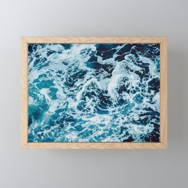 Lovely Seas Framed Mini Art Print