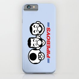Pipe Boys iPhone Case