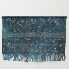 Under Constellations Wall Hanging