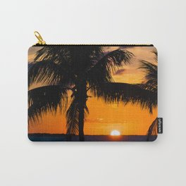 Key Largo Sunset Carry-All Pouch
