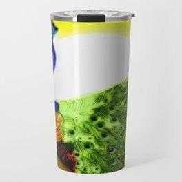 Peacock ~ Jennifer's Art Design. Travel Mug
