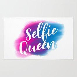 Selfie queen Rug