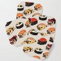 Sushi Pug by huebucket