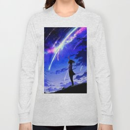 "Kimi No Na Wa ""Your Name"" v1 Long Sleeve T-shirt"
