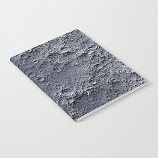 Moon Surface Notebook
