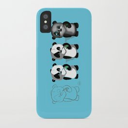 PANDASTRATION iPhone Case
