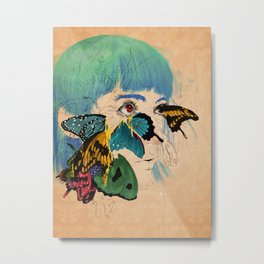 Butterf Metal Print