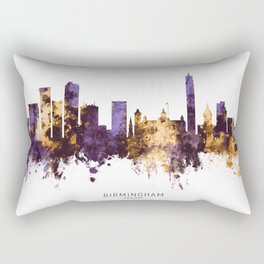 Birmingham England Skyline Rectangular Pillow